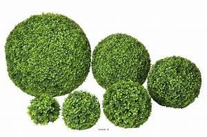 boule de buis artificiel mundufr With decoration d un petit jardin 15 boule de neige plante en ligne