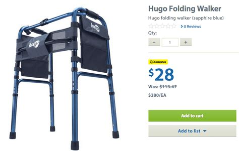 Transport Chair Walmart Canada by Walmart Canada Clearance Offers Save 75 On Hugo