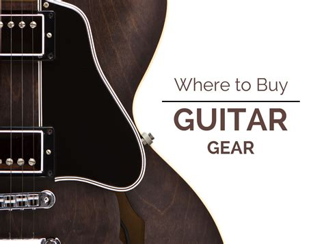 Where To Buy Guitar Gear  Guitar Lesson World