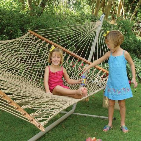 Hammocks For Sale With Stand by Duracord Rope Hammock With Metal Stand On Sale