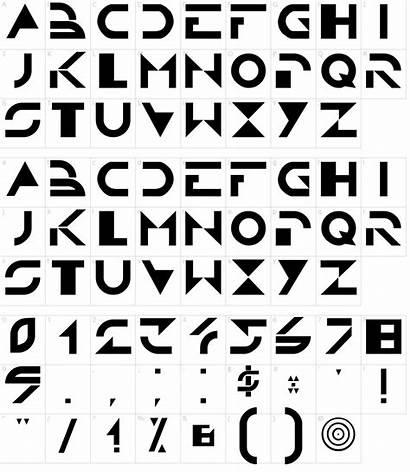 Font Tron Fonts Fontmeme Characters Character