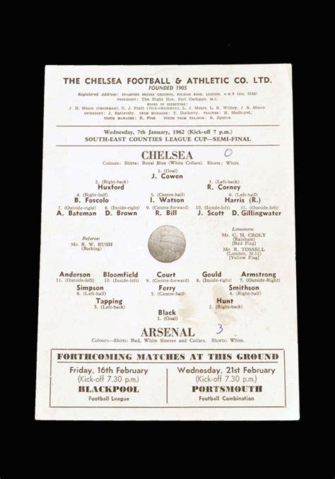 Youth 1960-61 - 1969-70 - 10 Footballs