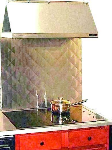Quilted Stainless Steel Backsplash   Frigo Design