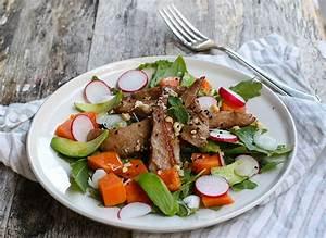 Salade Poulet Avocat : recettes salades repas complet ~ Melissatoandfro.com Idées de Décoration