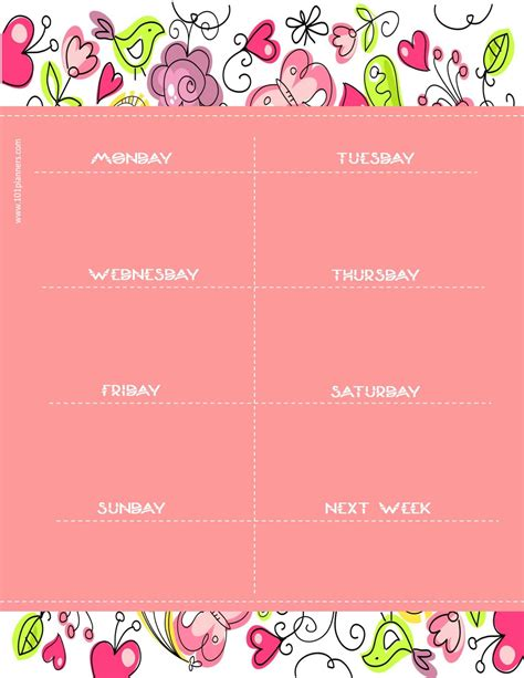 weekly calendar maker create  custom calendars