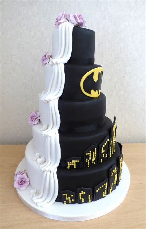 tier    batman themed wedding cake susies