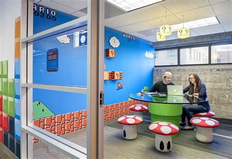 This Super Mario Themed Meeting Room Is Part Of An Entire
