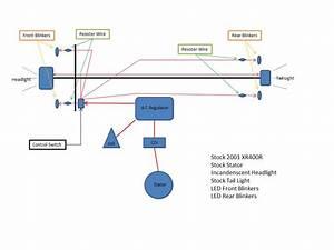 2001 Xr400 Wiring Question