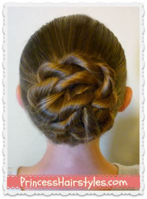Twisted Knots Hairstyle by Back To School Hairstyles The Twisted Knot Bun Princess