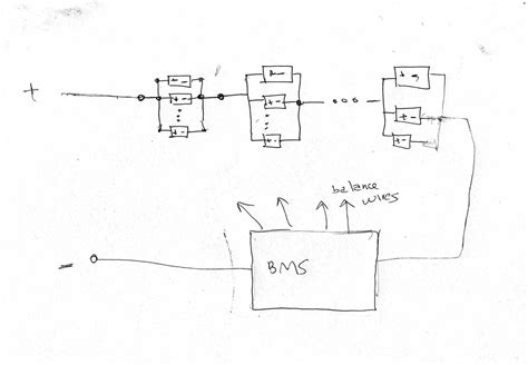 18650 Battery Series Wiring Diagram by 18650 Battery Wiring Diagram Basic Series Parallel