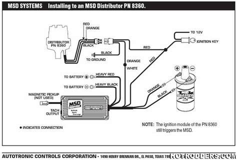 Full Msd System Not Firing Hot Rod Forum Hotrodders