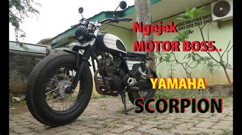 Yamaha Scorpio Modif by Cara Modifikasi Yamaha Scorpio Japstyle Modifikasi Motor