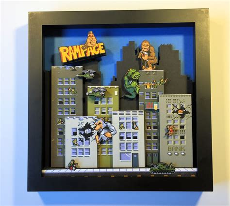 Rampage Shadow Box I Made Gaming Shadow Box Rampage