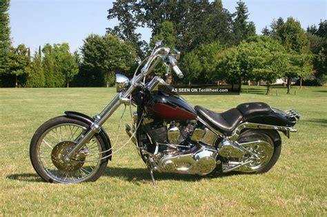 1991 Harley Davidson Softail Custom Fxstc Chopped Ghost