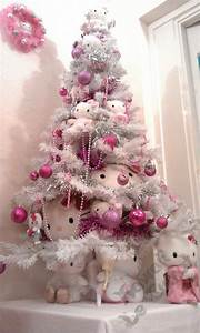 Hello Kitty Decke : 50 ethereal white christmas tree decoration ideas that are hard to resist ~ Sanjose-hotels-ca.com Haus und Dekorationen