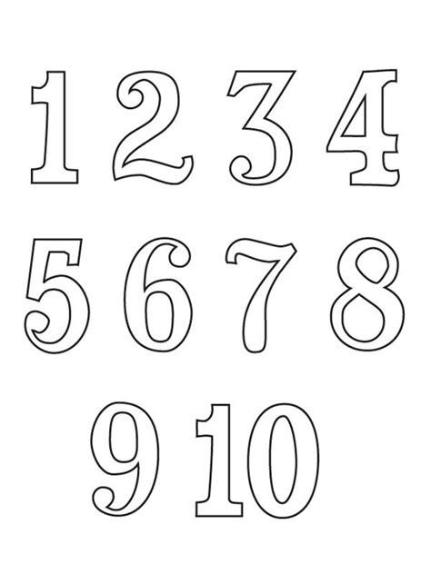 bojanke za decu brojevi matematika