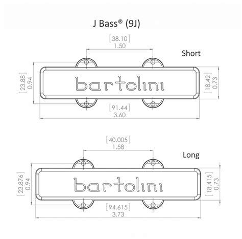 bartolini  axis  string jazz ls size split coil set