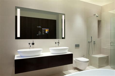 Electric Bathroom Mirrors by Electric Mirror Ushers In Hotel Room Of The Future With