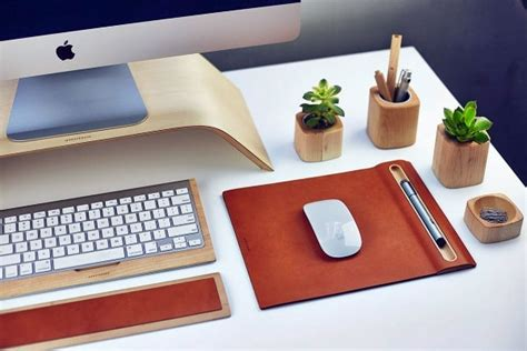 Office Desk Accessories by Desk Accessories From Grove Made Desk Interior Design