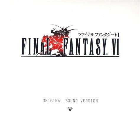 Final Fantasy Vi Original Sound Version Soundtrack From