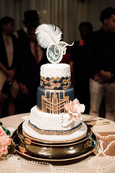 Vintage Gatsby Glamour Wedding (Nashville TN Great