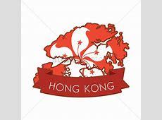 Hong kong map icon Vector Image 1594320 StockUnlimited