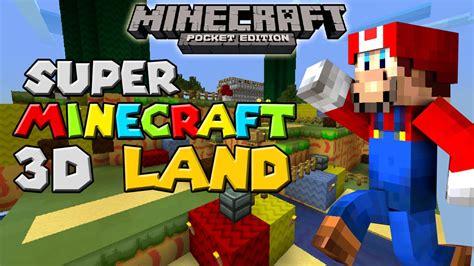super minecraft  land adventure map minecraft pe