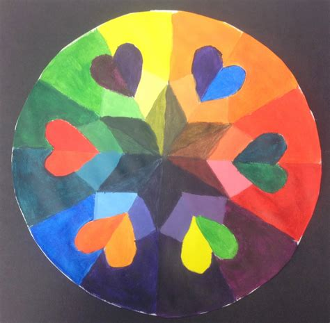 Bryan Gallery Art Education: Day Four: Color Wheel Mandalas