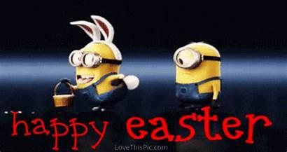 Minion Easter Happy Funny Minions Lovethispic Bunny