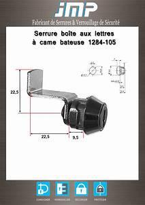 Serrure De Boite Aux Lettres : serrure boite aux lettres jmp ~ Melissatoandfro.com Idées de Décoration