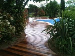 amenagement paysager autour d39une piscine classique With jardin autour d une piscine 4 paysage decors creations paysage decors