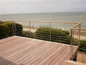 Bois Pour Terrasse Extérieure : menuiserie couronn terrasse bois escalier saint ~ Dailycaller-alerts.com Idées de Décoration