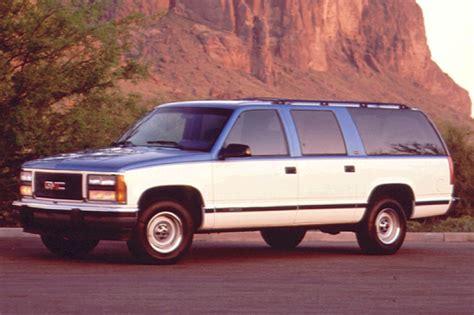 how petrol cars work 1996 gmc 1500 user handbook 1992 99 gmc suburban consumer guide auto