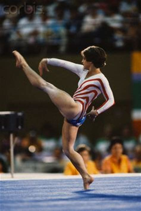 lou retton uneven bar routine 1000 images about gymnastics olympics 1984 on