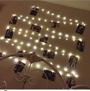 hanging, light, photo, display, fairy, lights, photo, display