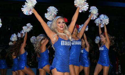Mar. 10, 2019; Dallas, TX;USA; DALLAS MAVERICKS DANCERS AT ...