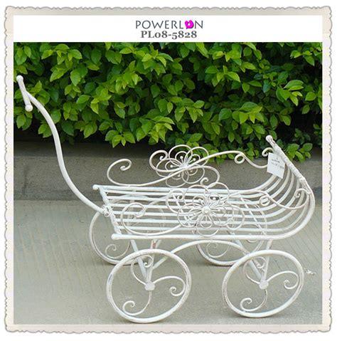 shabby chic metal decorative garden cart buy decorative