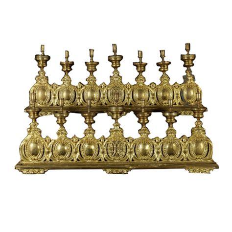 candelieri antichi coppia di candelieri oggettistica antiquariato