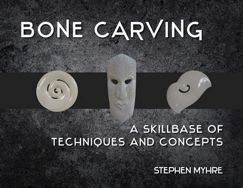 bone carving  stephen myhre penguin books  zealand