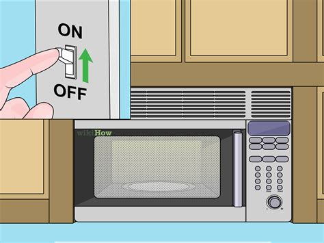 the range microwave installation how to install an over the range microwave 15 steps