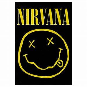 Nirvana Kurt Cobain Suicide Tapestry Liquid Blue