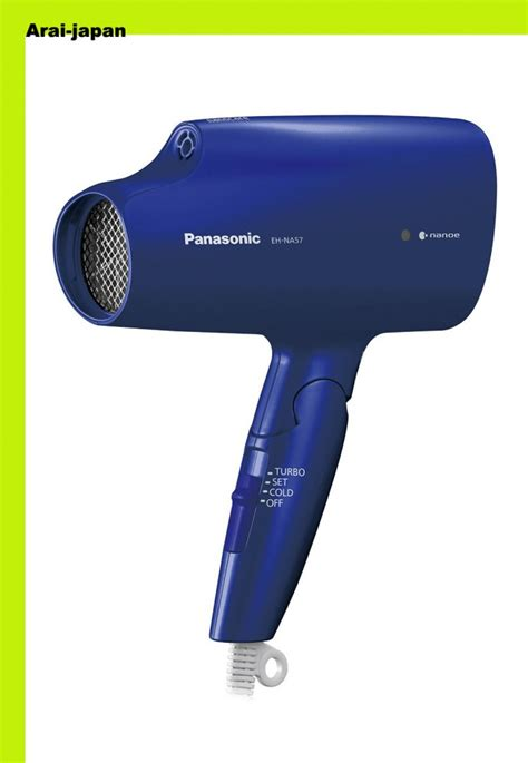 new panasonic hair dryer nano blue eh na57 a japan