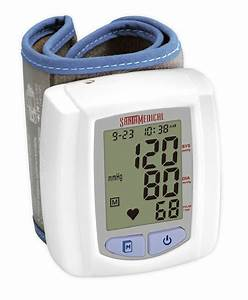 Santamedical Wrist Digital Blood Pressure Cuff Monitor