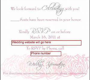 How to rsvp to a wedding invitation by email wording for Wording for wedding invitations with rsvp