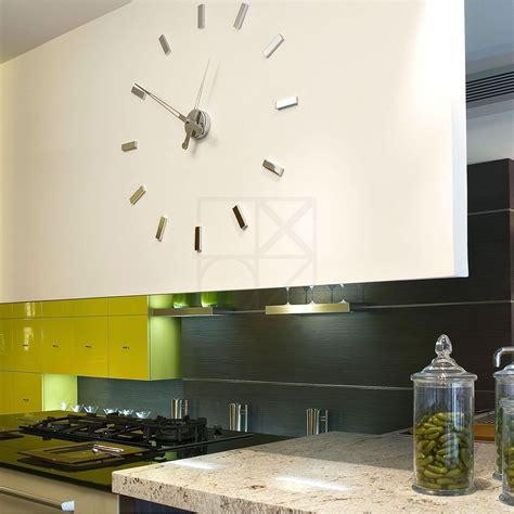 pendule cuisine design horloge design voile fabrication