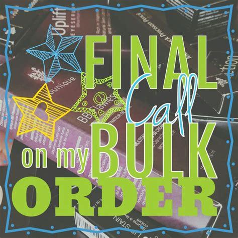 final call   bulk order  younique graphics
