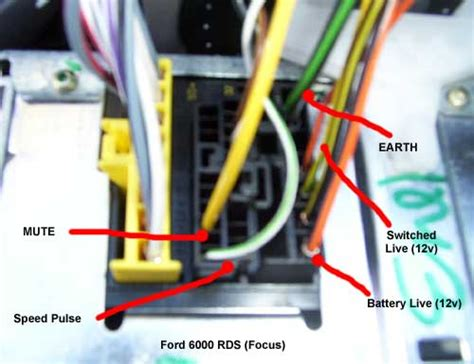 hallo i a 2002 ford mondeo 2 0 di 66kw can you help me with the wiring color on audiosystem