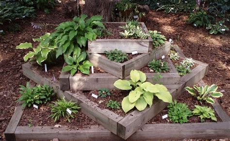 fast design landscaping  railroad ties  steps