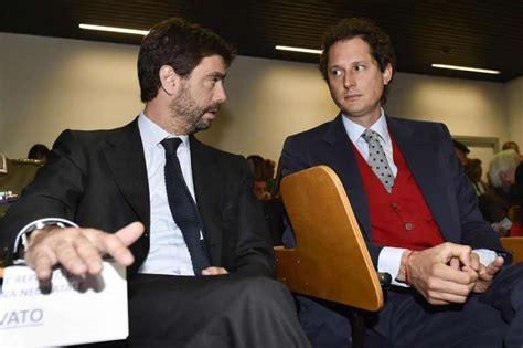 Andrea Agnelli, La Juventus E John Elkann