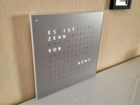 Wanduhr Mit Worten by Wanduhr In Worten Wohn Design